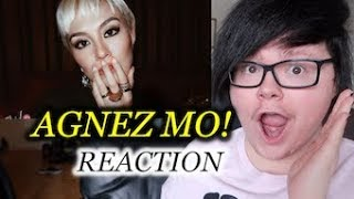 agnez mo be brave reaction