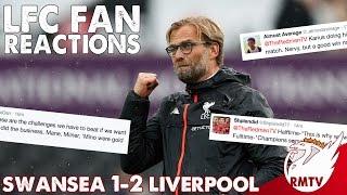 Swansea v Liverpool 1-2 | LFC Fan Reactions