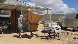 solar oven chicken
