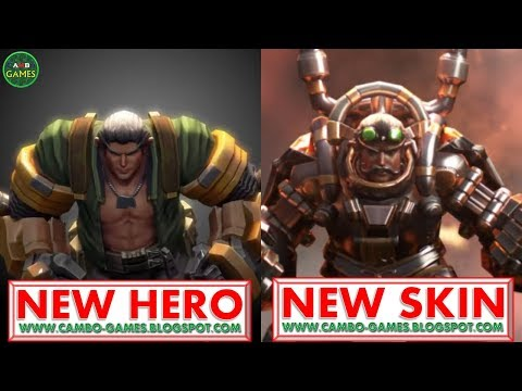 Vainglory 5v5: New Hero - Tony And New Skin - Steam Knight Preview Android/iOS