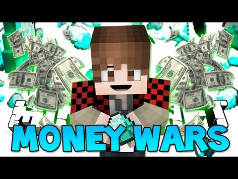"Minecraft: ""CAMPERS MAKE ME SALTY"" MONEY WARS #16 (Epic Mini-Game)"