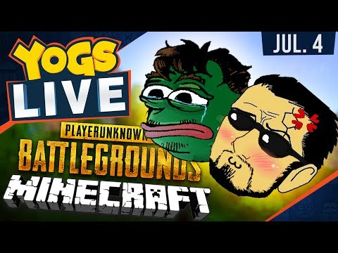 Minecraft & PUBG w/ Barry & ISP - 4th July 2017