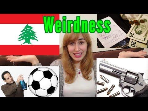 WEIRD THINGS LEBANESE PEOPLE DO - Top 5
