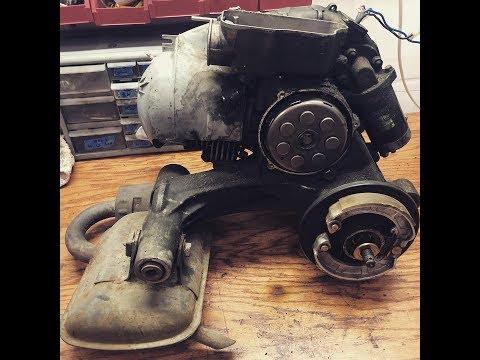 TST Live - LML 150cc teardown for Polini 177