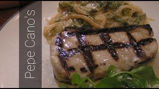 "Legacy Foodworks #8 Sea Bass ""rajas Poblanas"""