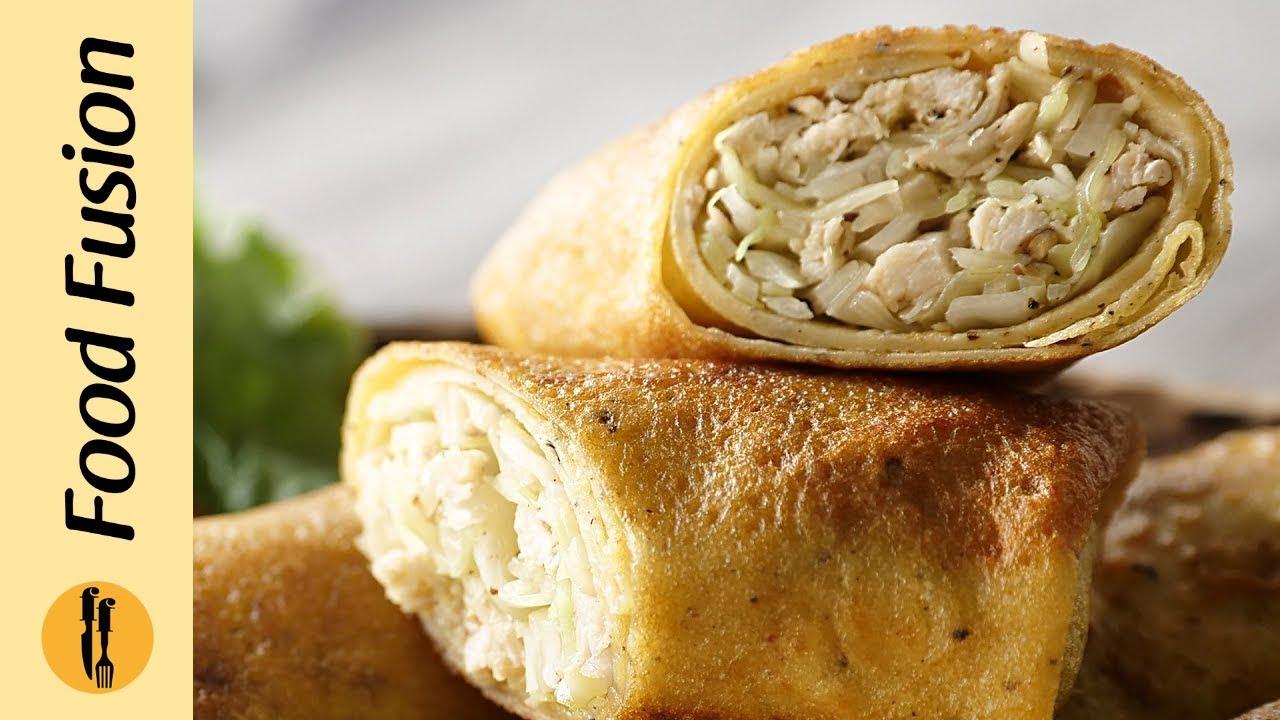 Chinese Rolls Recipe By Food Fusion (Ramzan recipe)