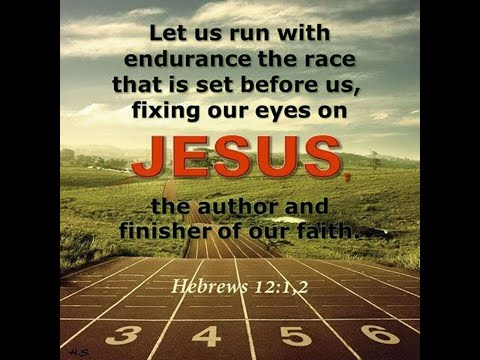 Dream-  RUN OUR RACE WITH FAITHFULNESS...MEASURED BY GOD'S PLUM LINES! COME LORD JESUS COME!