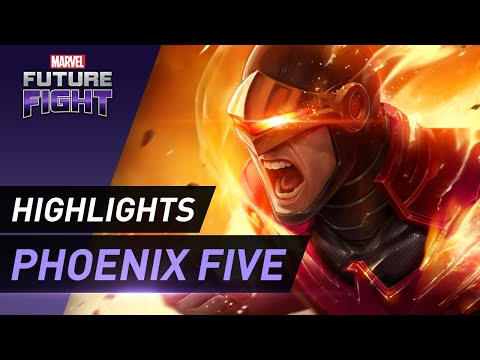 [MARVEL Future Fight] X-Men Phoenix Five Update!