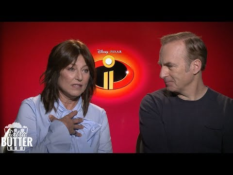 Incredibles 2: Bob Odenkirk and Catherine Keener talk the sequel