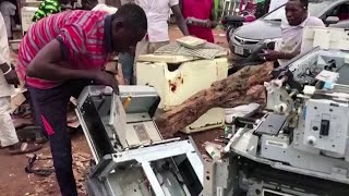 Nigeria battles a rising tide of e-waste