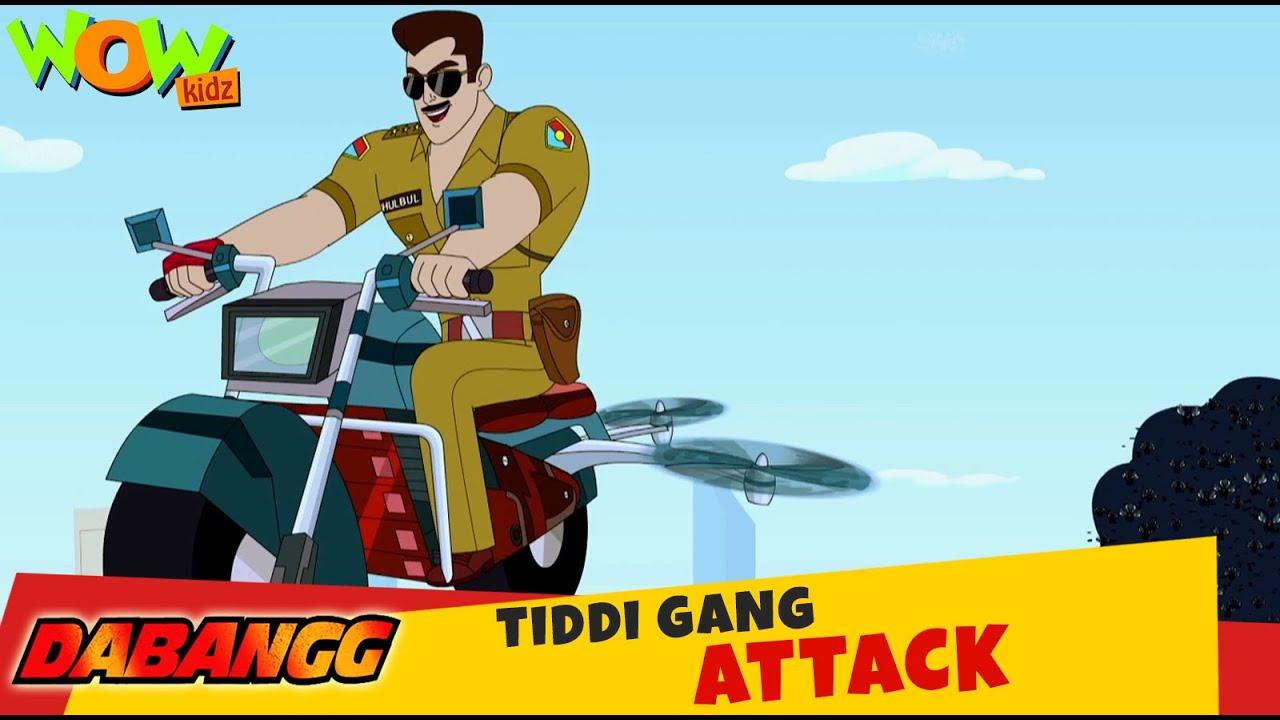 Dabangg | Ep 01 | New Animated Series | Wow Kidz