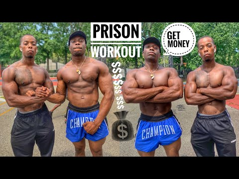Prison Workout at Home | Prison Workout No Weights
