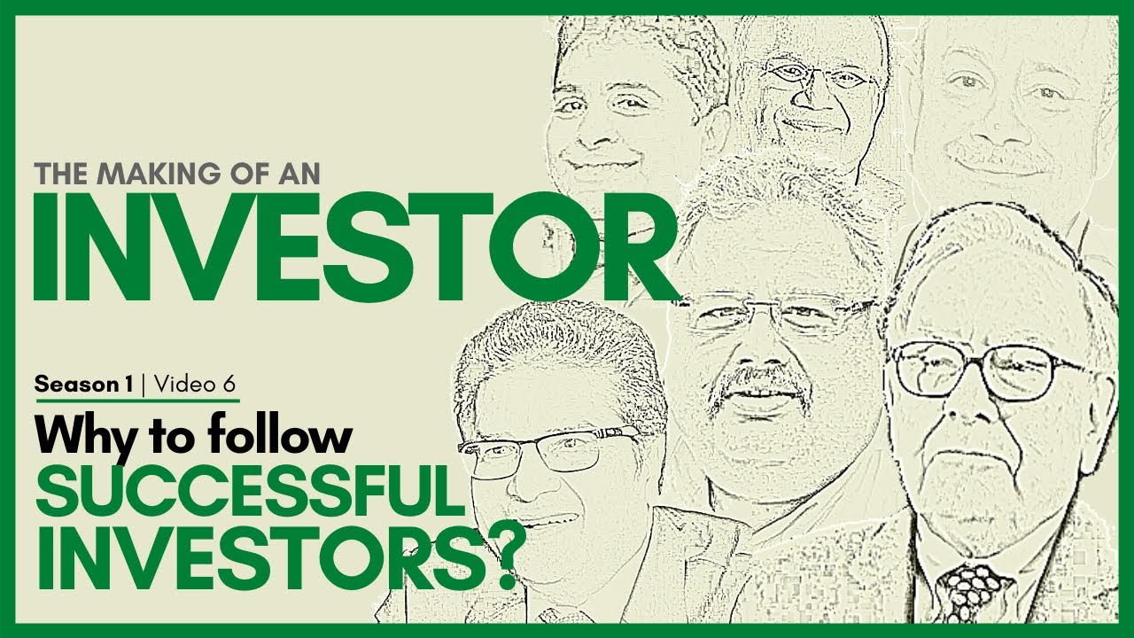 FOLLOW SUCCESSFUL INVESTORS | The Making of an Investor | Basic of Stock Market for Beginners (2020)