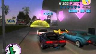 GTA Vice City - PC - Misi 54: Race #1 - Terminal Velocity (Sunshine Autos 1)