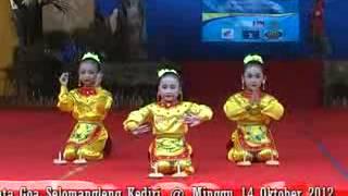 Indonesian Traditional Dance Tari Lilin
