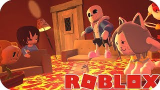 🐷 BEBE AENH PLAYS THE FLAT IS LAVA IN ROBLOX - ROBLOX AENH