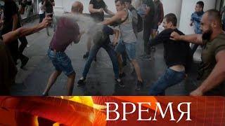 После пожара водном издетских лагерей Одессы родители штурмуют мэрию