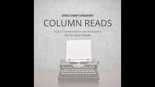 Column Read | June 20, 2021