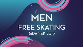 Daniel Grassl (ITA)   Men Free Skating   Gdansk 2019