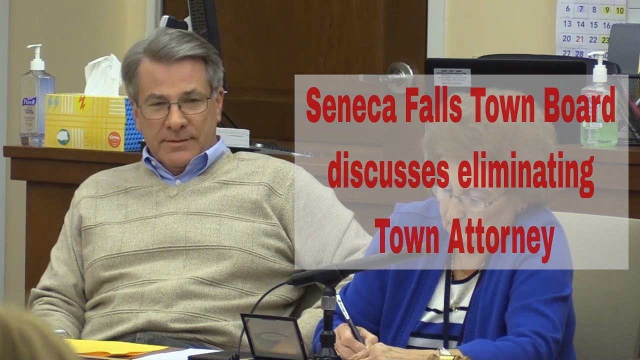 Avery withdraws motion, ending possibility of eliminating Town Attorney position in Seneca Falls (video)