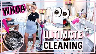 🥵ULTIMATE ALL DAY CLEAN WITH ME! EXTREME Speed Cleaning MOTIVATION!