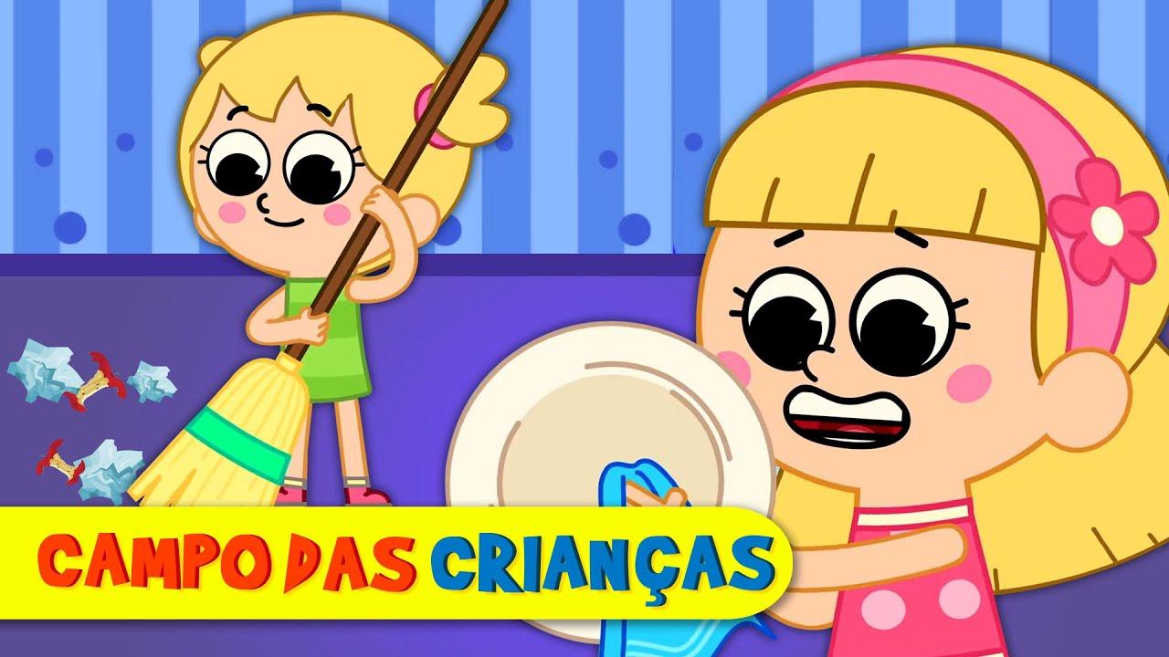 É bom jogar dentro de casa | Campo das Crianças - KidsCamp Brasil  | Desenhos Animados