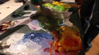 Мастер класс по живописи художника Сахарова