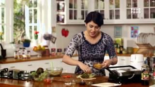 Walnut Olive Sandwich    Mummy Ka Magic   Amrita Raichand   Food Food