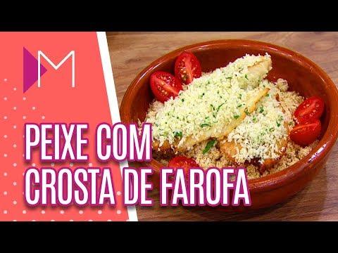 Peixe branco com crosta de farofa - Mulheres (18/04/18)