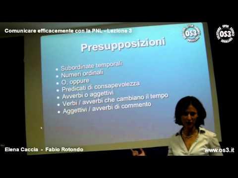 Comunicare efficacemente con la PNL - Lezione 3