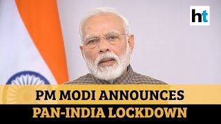 'Type of curfew': PM Modi declares 21-day lockdown over COVID-19 l Full speech