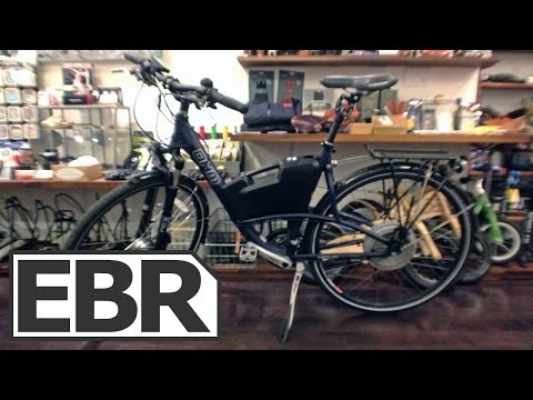 OHM Urban XU700 Video Review - Sturdy Commuter Electric Bike with BionX Drive System