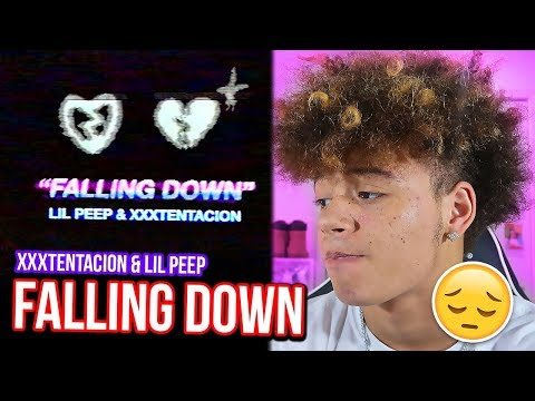 I ALMOST CRIED... Lil Peep & XXXTENTACION - Falling Down REACTION/REVIEW!