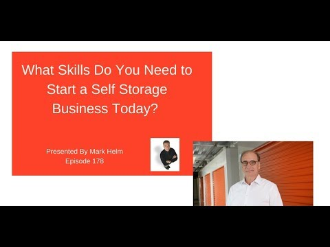 What Skills Do You Need To Start A Self Storage Business Today 178