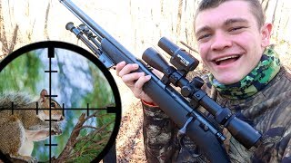 Scope Cam Squirrel Hunting! - 22 Long Rifle