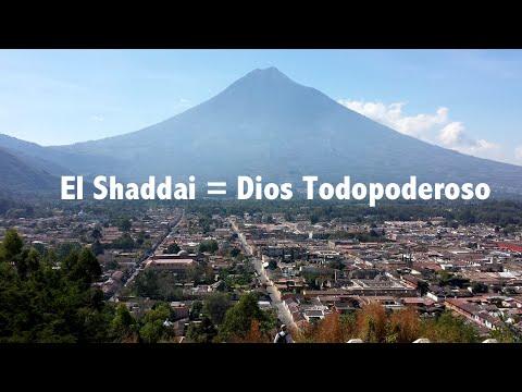 ¿Qué significa El Shaddai? Nombres - Títulos de Dios