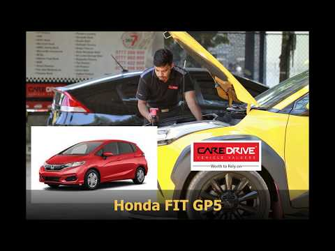 Honda FIT GP5 Chassis Number & Engine Number Location