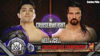 WWE Hell In A Cell 2016 Match Card Full