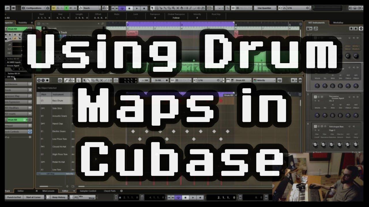 cubase drum maps download