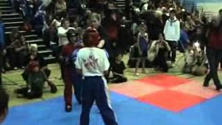Revolution tournaments - Doncaster - Logan Sizer - Leeds martial arts college - Kick boxing