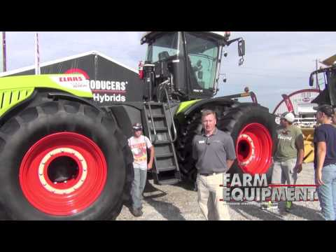 Reichhardt Platform Kits on the New Claas Xerion Tractor