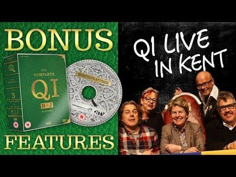 QI'S LIVE UNAIRED EPISODE | QI DVD Bonus Features