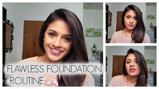 Flawless Foundation Routine | Brown (Indian) Skin | Talk-Through