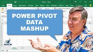 Power Pivot Mashup - Learn Excel from MrExcel: Podcast #1178