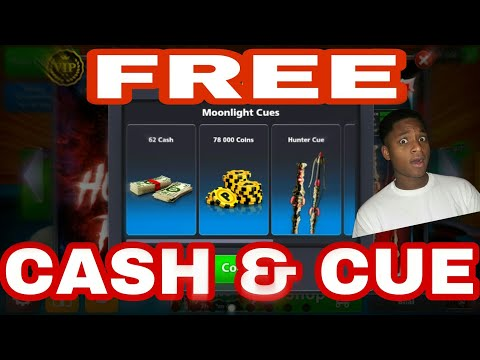 8 Ball Pool : Claim Free Cash, Coins & Cue Now [Latest Trick]