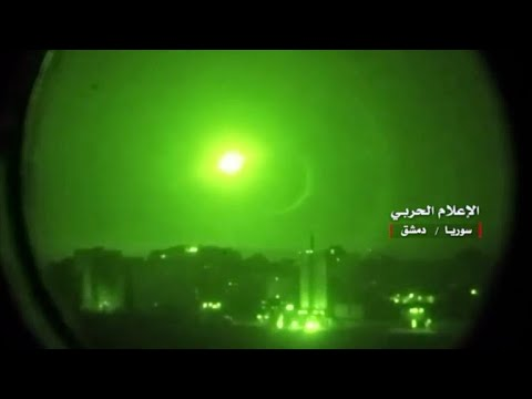 Israel Ataca Decenas De Objetivos Iraníes En Siria