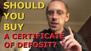 Why A Certificate Of Deposit Is a Great Investment! How and When To Invest in a Bank's CD?