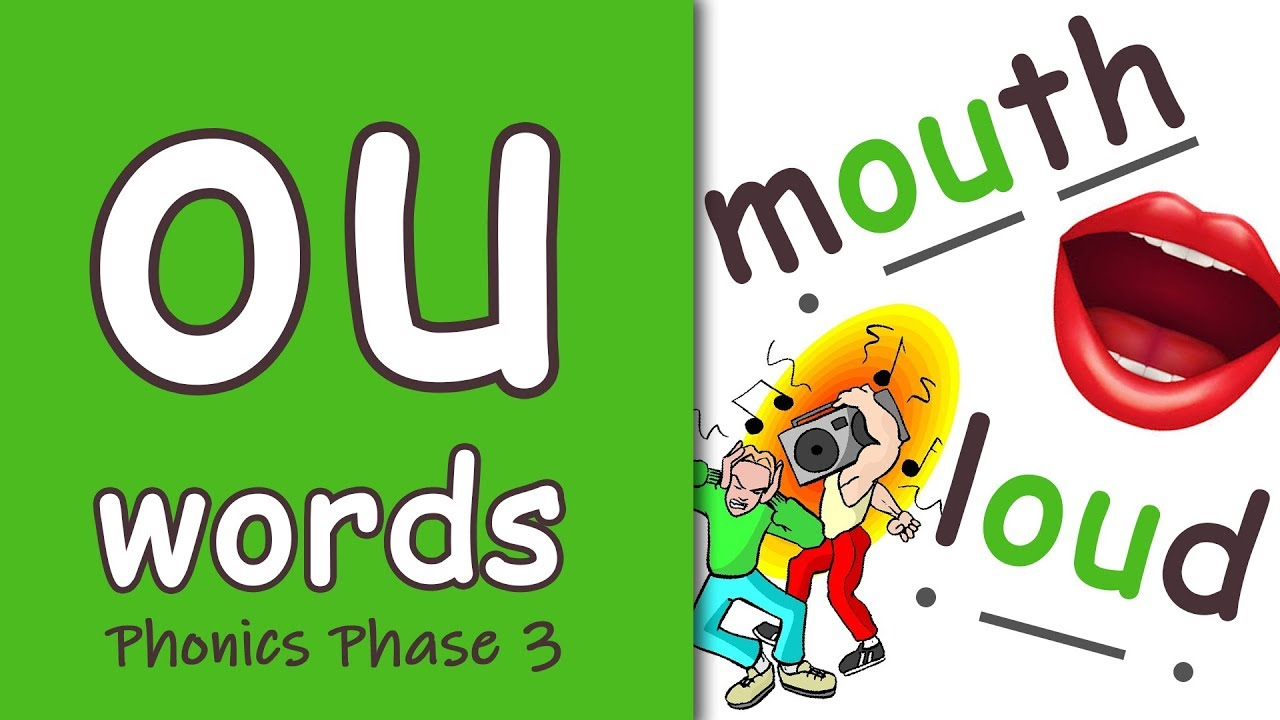 Download 'ou' Words | Phonics Phase 3