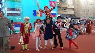 Воспитанники «Мастерской клоунов» на Всемирных играх победителей