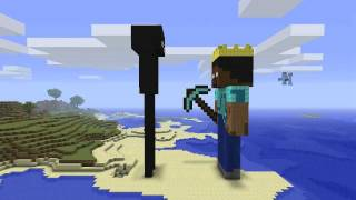 Repeat youtube video Minecraft - Enderman & Herobrine